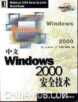 中文Windows 2000安全技术