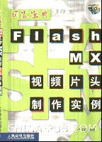 Flash MX视频片头制作实例[按需印刷]