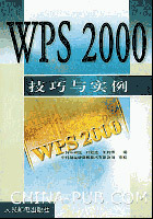 WPS 2000 技巧与实例[按需印刷]
