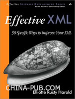 Effective XML: 50 Specific Ways to Improve Your XML 原版进口
