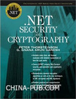 .NET Security and Cryptography 原版进口