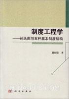 制度工程学――孙氏图与五种基本制度结构[按需印刷]