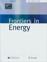 (赠品)Frontiers in Energy(Volume 5. Number 2. June 2011)