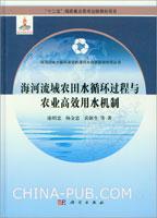 海河流域农田水循环过程与农业高效用水机制(精)