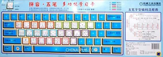 拼音/五笔多功能学习卡