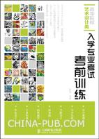 (特价书)高等院校艺术设计类:入学专业考试考前训练