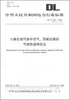六氟化硫气体中空气、四氟化碳的气相色谱测定法/中华人民共和国电力行业标准