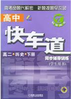 高二历史(下册):高中快车道同步辅导训练(学生用书)
