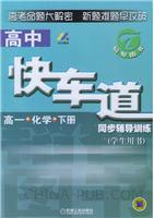 高一化学(下册):高中快车道同步辅导训练(学生用书)