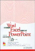 Word文档编辑 Excel数据分析 PowerPoint幻灯片制作三合一[按需印刷]