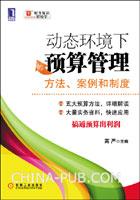 (特价书)动态环境下的预算管理:方法、案例和制度
