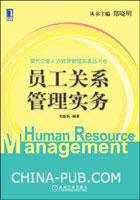 员工关系管理实务[按需印刷]