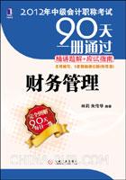 (特价书)2012年中级会计职称考试90天一册通过.精讲题解+应试指南――财务管理