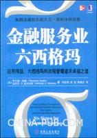(特价书)金融服务业六西格玛(china-pub全国首发)