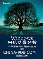 Windows 内核情景分析--采用开源代码ReactOS(上、下册)(09年度畅销榜TOP50)