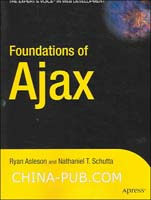 (赠品)Foundations of Ajax(图灵英文影印图书赠品)