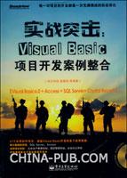 实战突击:Visual Basic项目开发案例整合(含DVD光盘1张)
