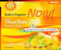 (赠品)Microsoft Visual Basic 2008 Express Edition: Build a Program Now!