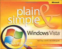 (赠品)Windows Vista Plain & Simple