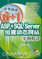 ASP+SQL Server组建动态网站实例精讲[按需印刷]