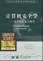 计算机安全学――安全的艺术与科学