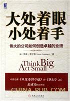 (特价书)大处着眼,小处着手:伟大的公司如何创造卓越的业绩