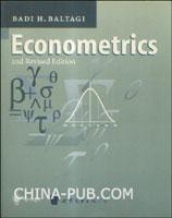 (特价书)计量经济学(英文影印版)