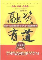 (特价书)融资有道-中国中小企业融资操作技巧大全与精品案例解析-精华版