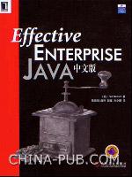 (特价书)Effective Enterprise Java中文版