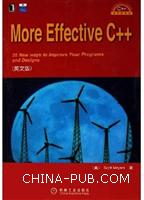 More Effective C++(英文影印版)[按需印刷]