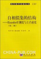 (特价书)自相似集的结构--Hausdorff测度与上凸密度(第二版)