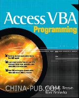 Access VBA Programming(英文原版进口)