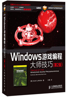 Windows游戏编程大师技巧(第2版)(拉莫斯大师著作,姚晓光、史晓明等专业人士重磅推荐)
