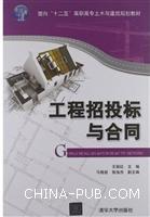 工程招投标与合同(面向十二五 高职高专土木与建筑规划教材)