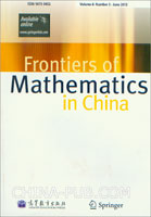 (赠品)Frontiers of Mathematics in China期刊(英文)Volume8.Number3.June2013
