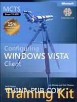 [特价书]MCTS自步培训教程(Exams 70-620):Windows Vista 客户配置(光盘)(英文原版进口)