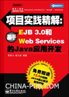 项目实践精解:基于EJB 3.0和Web Services的Java应用开发