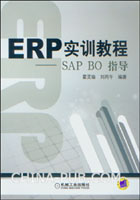 ERP实训教程――SAP BO指导