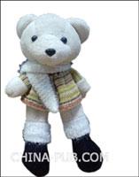 (赠品)china-pub定制精美泰迪小熊(颜色随机)