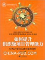 (特价书)如何提升组织级项目管理能力:OPM3最佳实践和案例分析