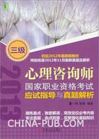(特价书)心理咨询师国家职业资格考试应试指导与真题解析(三级)