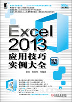 Excel 2013应用技巧实例大全