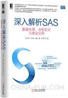 深入解析SAS:数据处理、分析优化与商业应用(china-pub首发)