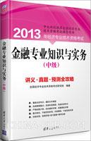 金融专业知识与实务(中级):讲义、真题、预测全攻略(2013年)