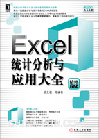 Excel统计分析与应用大全[按需印刷]