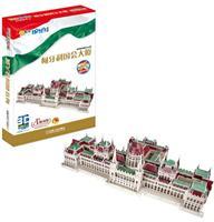 Q书架爱拼 3D益智手工 匈牙利国会大厦 超级仿真,精巧细致。欧洲最早的立法建筑之一,哥特式建筑的代表。拼装难度5颗星
