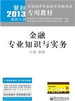 2013-中级 教材-金融专业知识与实务