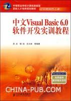 中文Visual Basic 6.0软件开发实训教程