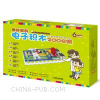 超好玩的电子积木2008拼-奇妙的电世界.电子益智拼装-适用年龄6岁以上-(含电子积木)