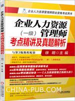 企业人力资源管理师考点精讲及真题解析(一级)